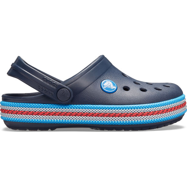 Crocs Crocband Sport Cord Clogs Kinder navy