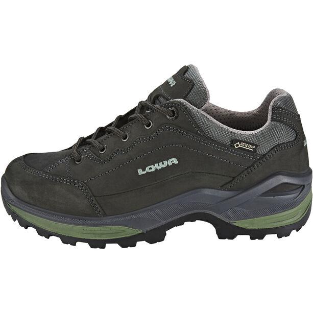 Lowa Renegade GTX Low Shoes Damen graphite/jade
