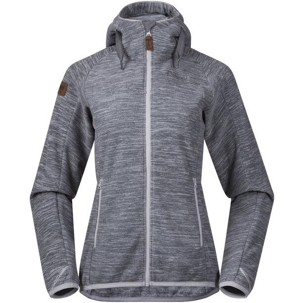 Bergans Hareid Fleece Jacket Damen aluminium melange