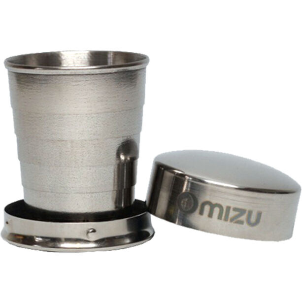 MIZU Shot Glass stainless with black print