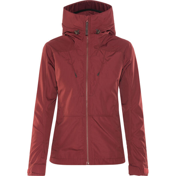 Lundhags Habe Jacke Damen dark red