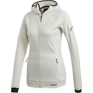 adidas TERREX Stockhorn Kapuzenjacke Damen raw white raw white