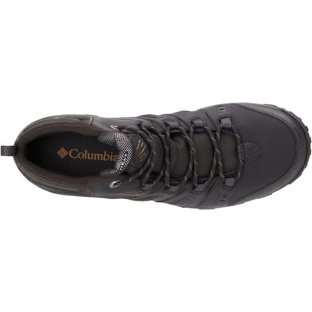 Columbia Woodburn II Chukka WP Omni-Heat Schuhe Herren black/goldenrod