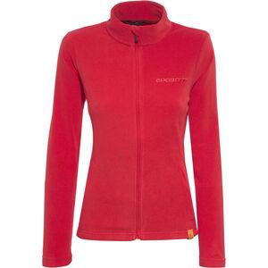 axant Nuba Fleece Jacke Damen true red true red