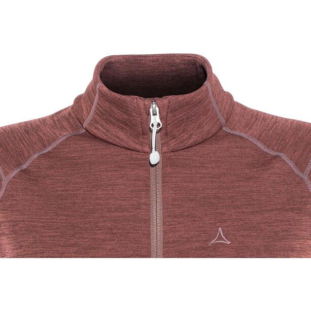 Schöffel Nagoya Fleece Jacket Damen roan rouge