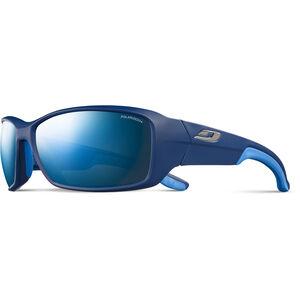Julbo Run Polarized 3+ Sonnenbrille Herren matt blue/blue/grey flash blue matt blue/blue/grey flash blue