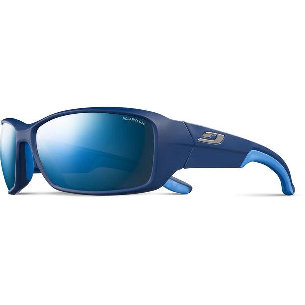 Julbo Run Polarized 3+ Sonnenbrille Herren matt blue/blue/grey flash blue