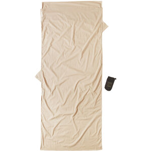 Cocoon Insect Shield TravelSheet Inlet Egyptian Cotton sand sand