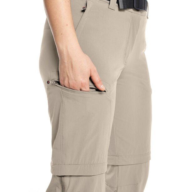 Maier Sports Nata Hose Damen feather gray
