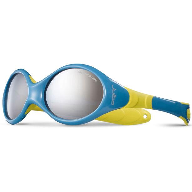 Julbo Looping III Spectron 4 Sunglasses 2-4Y Kinder blue/yellow-gray flash silver