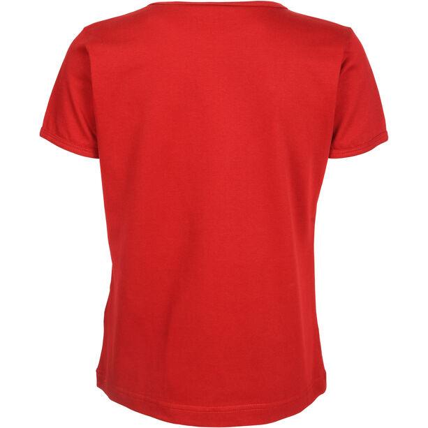Elkline Hometown Kurzarm-Shirt Mädchen chilipepperred