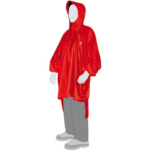 Tatonka Poncho 2 M-L red