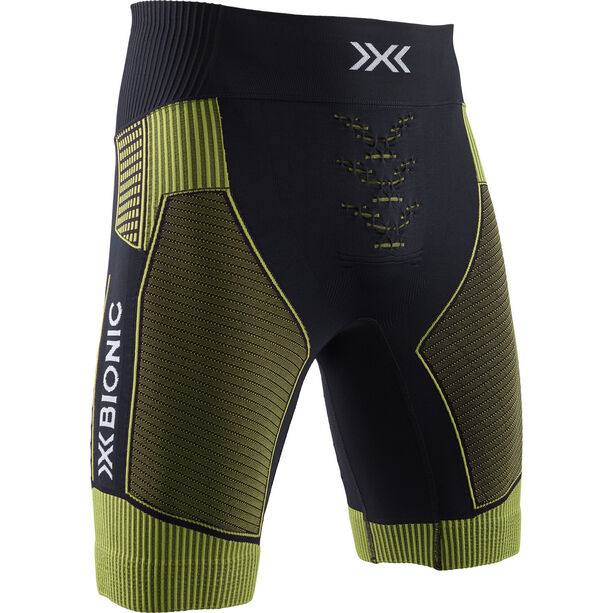 X-Bionic Effektor G2 Run Shorts Herren black/acid green