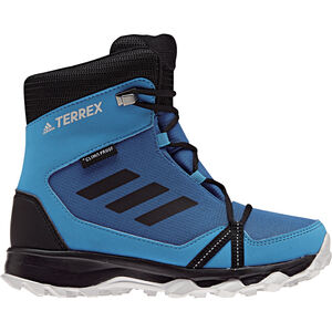 adidas TERREX SnowPitch Winter Shoes Jungs blue beauty/core black/hi-res orange blue beauty/core black/hi-res orange