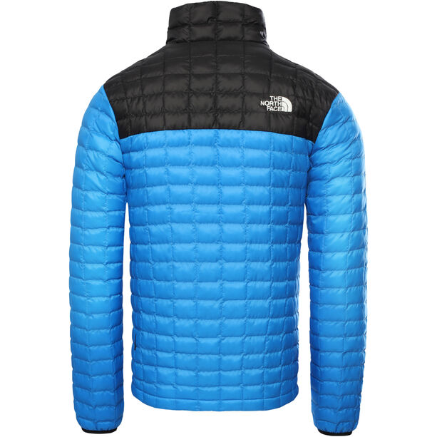 The North Face ThermoBall Eco Light Jacke Herren clear lake blue/tnf black