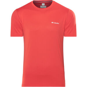 Columbia Zero Rules SS Shirt Herren red spark red spark