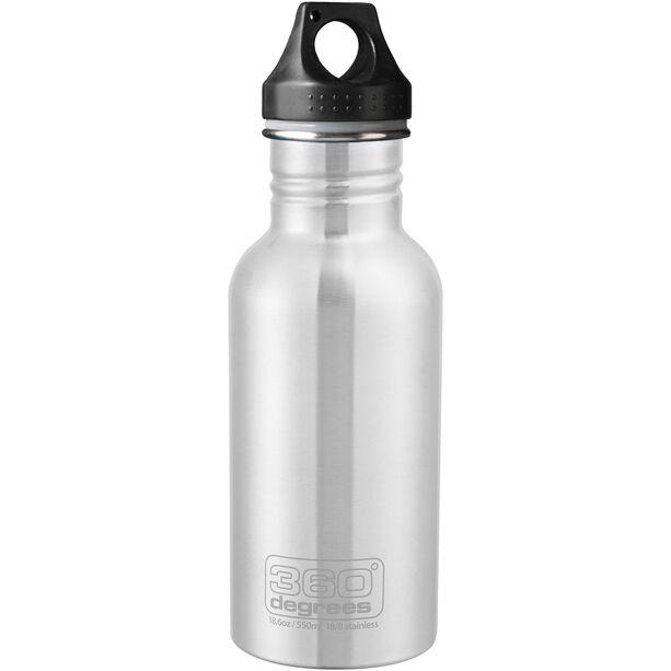 360° degrees Stainless Drink Bottle 550ml steel