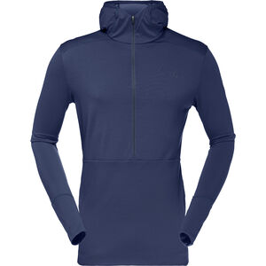 Norrøna Wollhoodie Herren indigo night/indigo night indigo night/indigo night