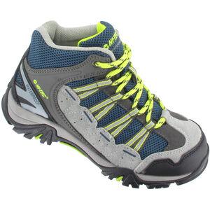 Hi-Tec Forza Mid WP Shoes Kinder cool grey/majolica/limoncello cool grey/majolica/limoncello