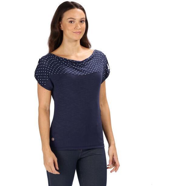 Regatta Freesia T-Shirt Damen navy polka