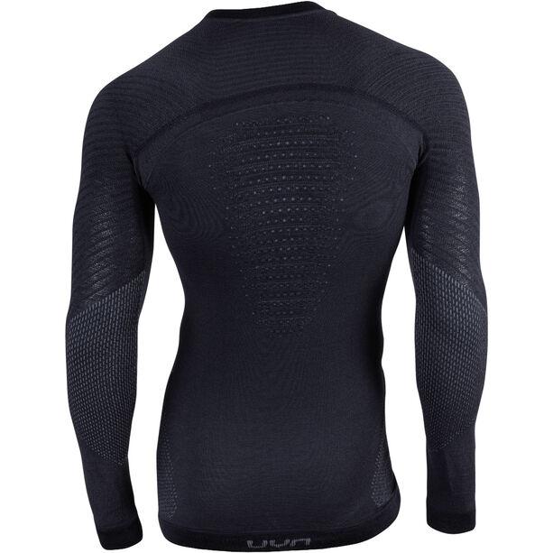 UYN Fusyon UW LS Shirt Herren black/anthracite/anthracite
