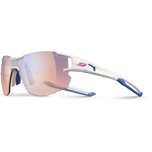 Julbo Aerolite Zebra Light Sunglasses Damen white/blue white/blue
