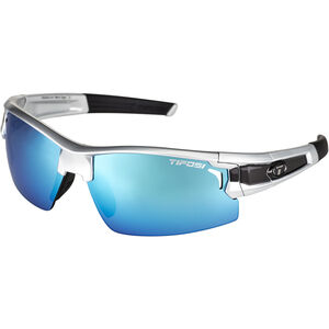 Tifosi Escalate FH Glasses Herren silver/black - clarion blue/ac red/clear silver/black - clarion blue/ac red/clear
