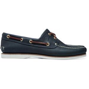 Timberland Classic 2-Eye Boat Shoes Herren medium blue full grain medium blue full grain