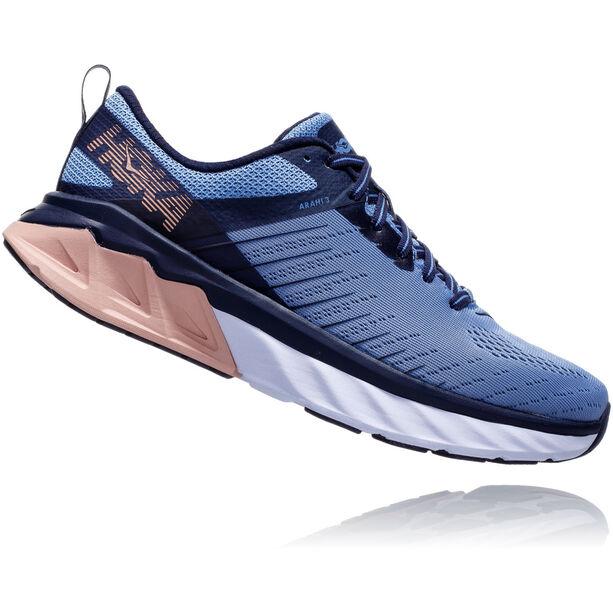 Hoka One One Arahi 3 Running Shoes Damen allure/mood indigo