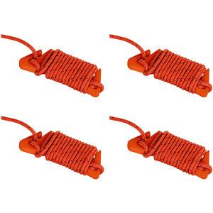 VAUDE Guyline Set Campo & Family 4 Pieces d'red/orange d'red/orange