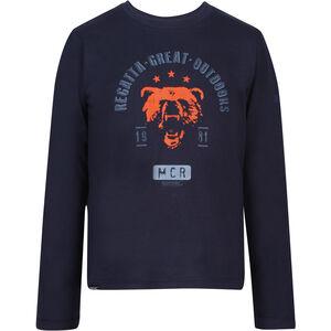 Regatta Wendell Langarm Shirt Jungs navy bear navy bear