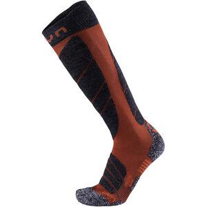 UYN Ski Magma Socks Herren dark red/anthracite dark red/anthracite