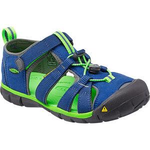 Keen Seacamp II CNX Sandals Kinder true blue/jasmine green