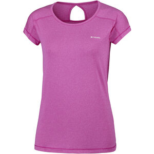 Columbia Peak to Point Shortsleeve Shirt Damen haute pink haute pink