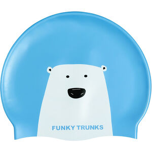 Funky Trunks Silicone Swimming Cap bear grills bear grills