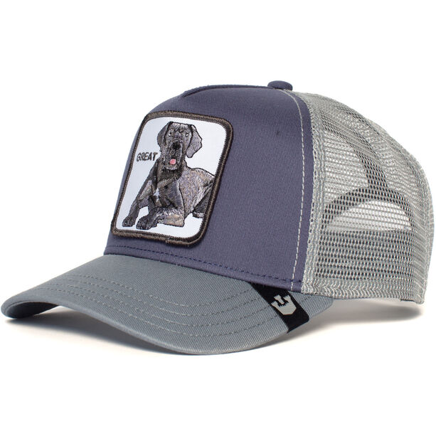 Goorin Bros. Big D Trucker Cap grey
