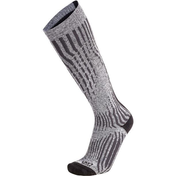 UYN Shiny Kaschmir Ski Socken Damen celebrity silver
