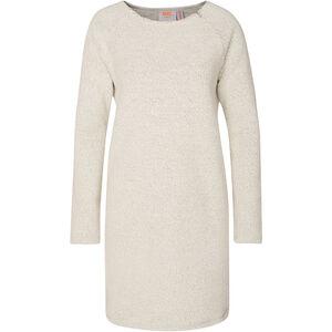 Varg Fårö Long Wool Dress Damen off white off white