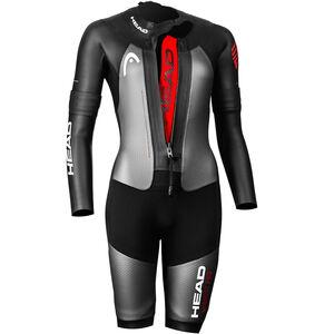 Head Swimrun MyBoost Pro Wetsuit Damen black-silver black-silver