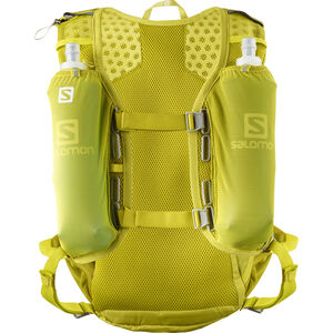 Salomon Agile 12 Backpack Set citronelle/sulphur spring citronelle/sulphur spring