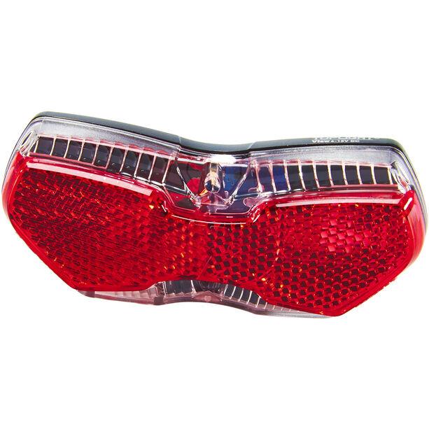 Busch + Müller Toplight View E LED Rücklicht für E-Bikes schwarz/rot