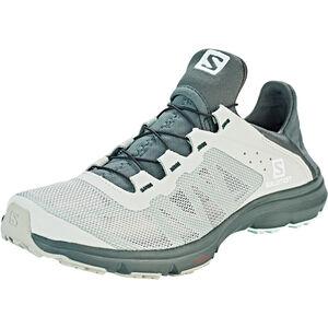 Salomon Amphib Bold Shoes Damen mineral gray/crown blue/white mineral gray/crown blue/white