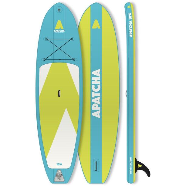 Indiana SUP Apatcha 10'6 Sky Aufblasbares SUP Board blue/lime