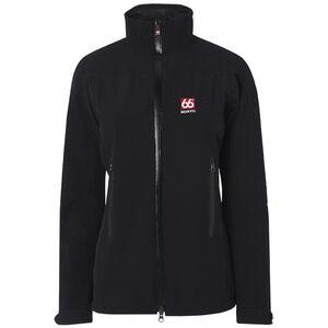 66° North Vatnajokull Collar Softshell Jacket Damen black black
