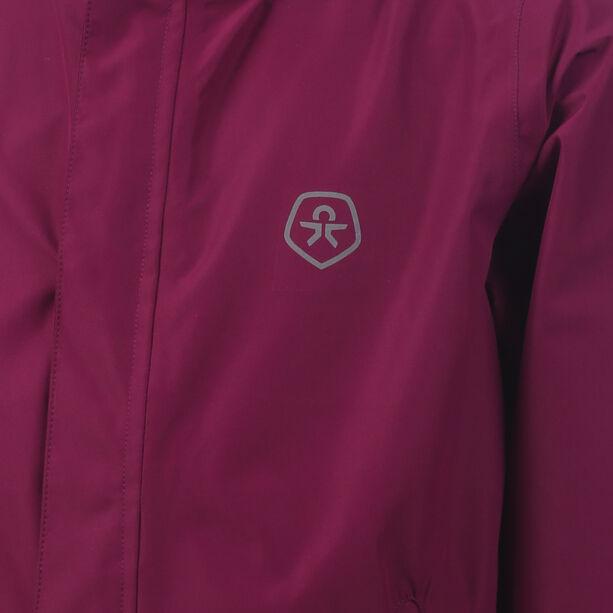 Color Kids Niffer AWG Rain Jacket Mädchen magenta purple