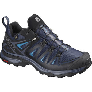 Salomon X Ultra 3 GTX Hiking Shoes Damen medieval blue/black/hawaiian surf