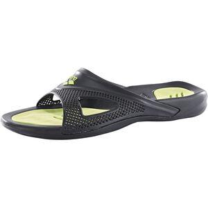 arena Hydrofit Hook Sandals Herren black/black/green black/black/green