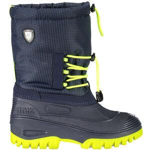 CMP Campagnolo Ahto WP Snow Boots Kinder black blue black blue