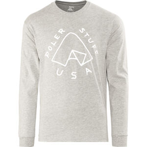 POLER Tent Pocket LS Tee Herren grey heather grey heather