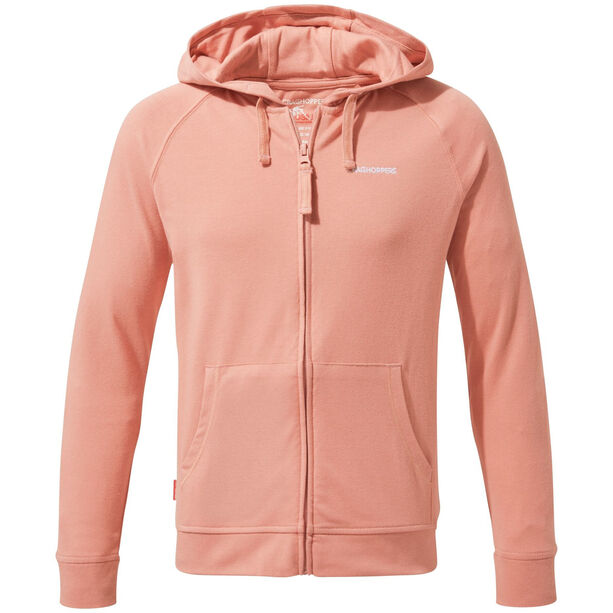 Craghoppers NosiLife Ryley Hoodie Mädchen rosette